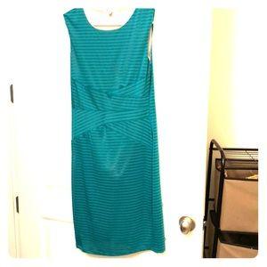 Dress Bright blue green teal